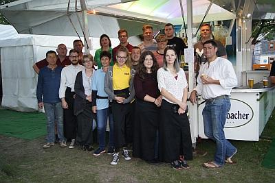 Die Gastro-Crew des 9. NCC-Sommertheaters