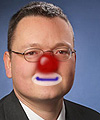 Red Nose genannt Michael Zeng / NCC-Mitglied